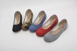 【公式】レディース靴の通販 shop kilakila(キラキラ)本店 ま~るいラウンドトゥのぺたんこパンプス