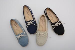 【公式】レディース靴の通販 shop kilakila(キラキラ)本店 キャンバス生地のスリッポンスニーカー