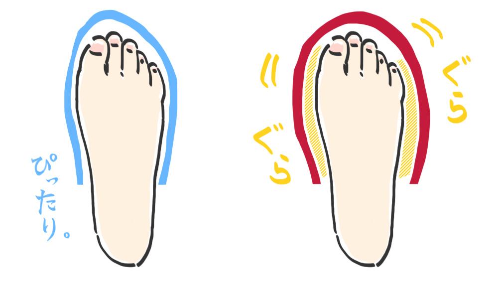 足が前に滑って痛い!パンプスの前すべりを解決する滑り止め